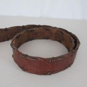 Brighton Accessories - Honest Brighton Belt Leather Stitching No Buckle